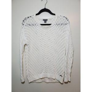 Eddie Bauer | White knit Sweater